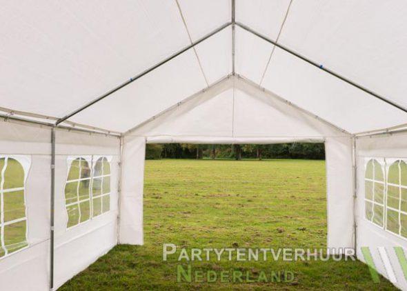 Partytent 4x6 meter binnenkant huren - Partytentverhuur Breda