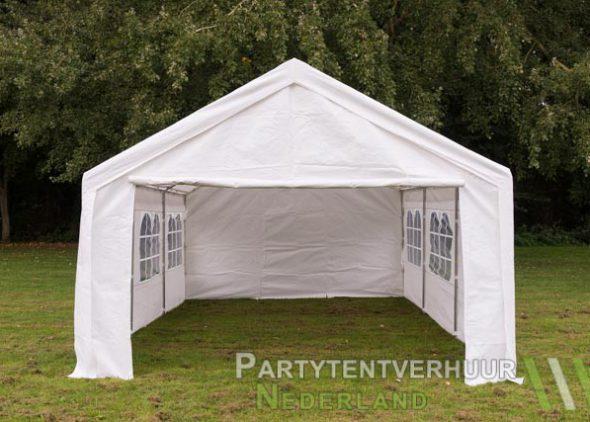 Partytent 4x6 meter voorkant huren - Partytentverhuur Breda