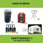 Partypakket 1 huren - Partytentverhuur Breda