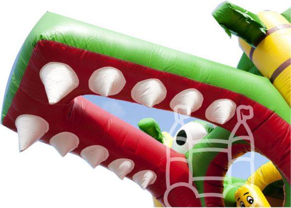 speelkussen krokodil