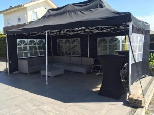 3x6 easy up tent huren in Breda