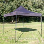 Easy up tent 3x3 meter schuin huren - Partytentverhuur Breda