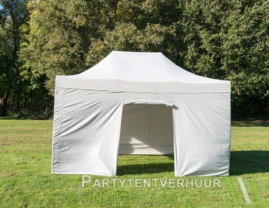Easy up tent 3x4,5 meter voorkant huren - Partytentverhuur Breda