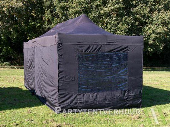Easy up tent 3x6 meter achterkant huren - Partytentverhuur Breda