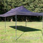 Easy up tent 3x6 meter schuin voorkant huren - Partytentverhuur Breda