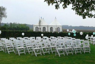 Wedding chair huren - Partytentverhuur Breda
