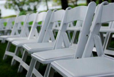 Wedding chair zijkant huren - Partytentverhuur Breda