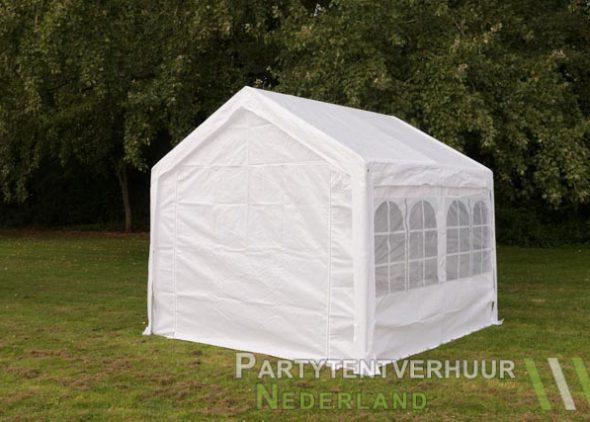 Partytent 3x3 meter achterkant huren - Partytentverhuur Breda