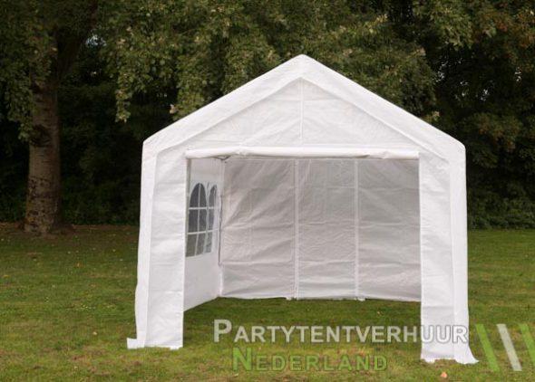 Partytent 3x3 meter voorkant huren - Partytentverhuur Breda
