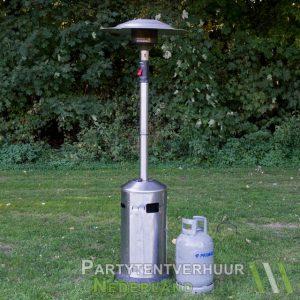 Patioheater met gasfles huren - Partytentverhuur Breda
